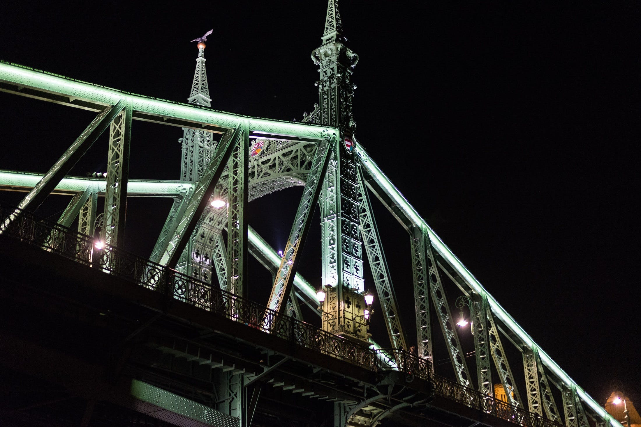 Základová fotografie zdarma na téma architektura, atrakce, město, most