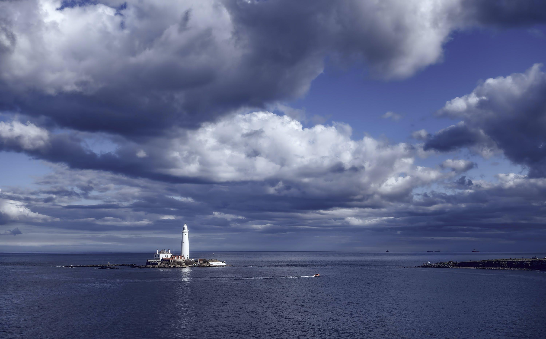 Free stock photo of blue, seascape