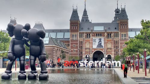 Photos gratuites de amsterdam, arbres, architecture, bassin