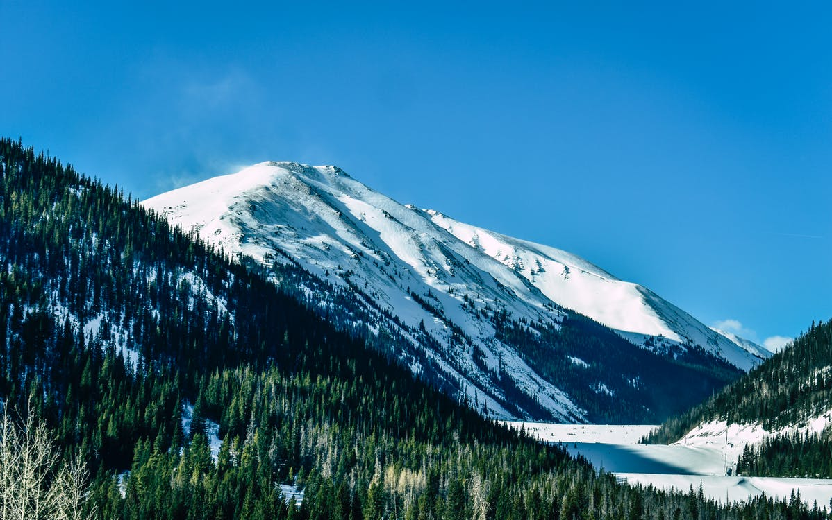Photo of Snow Capped Mountain