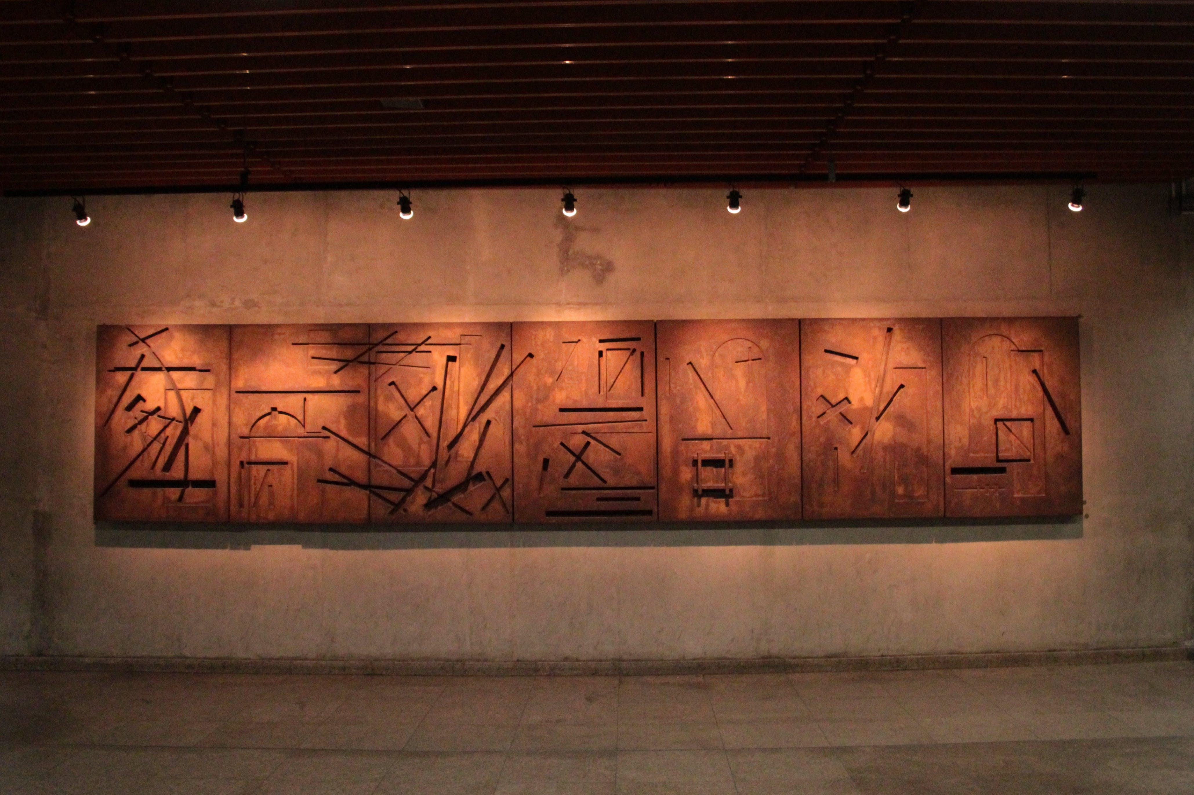 Photo of Wooden Artwork