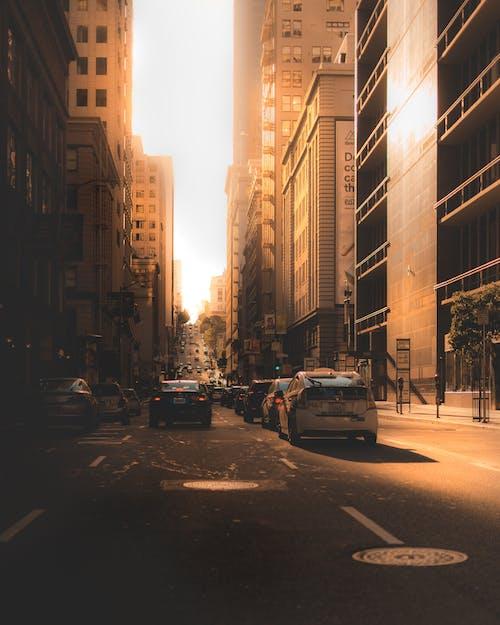 Imagine de stoc gratuită din amurg, arhitectură, automobile, autostradă