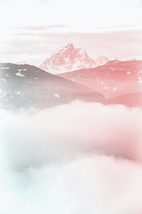açık hava, akşam karanlığı, dağ