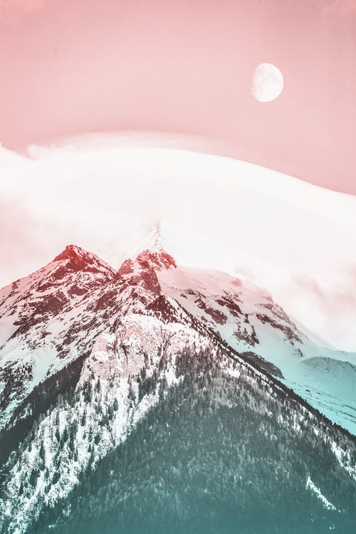 Fotobanka sbezplatnými fotkami na tému chladný, HD tapeta, hora, horský vrchol