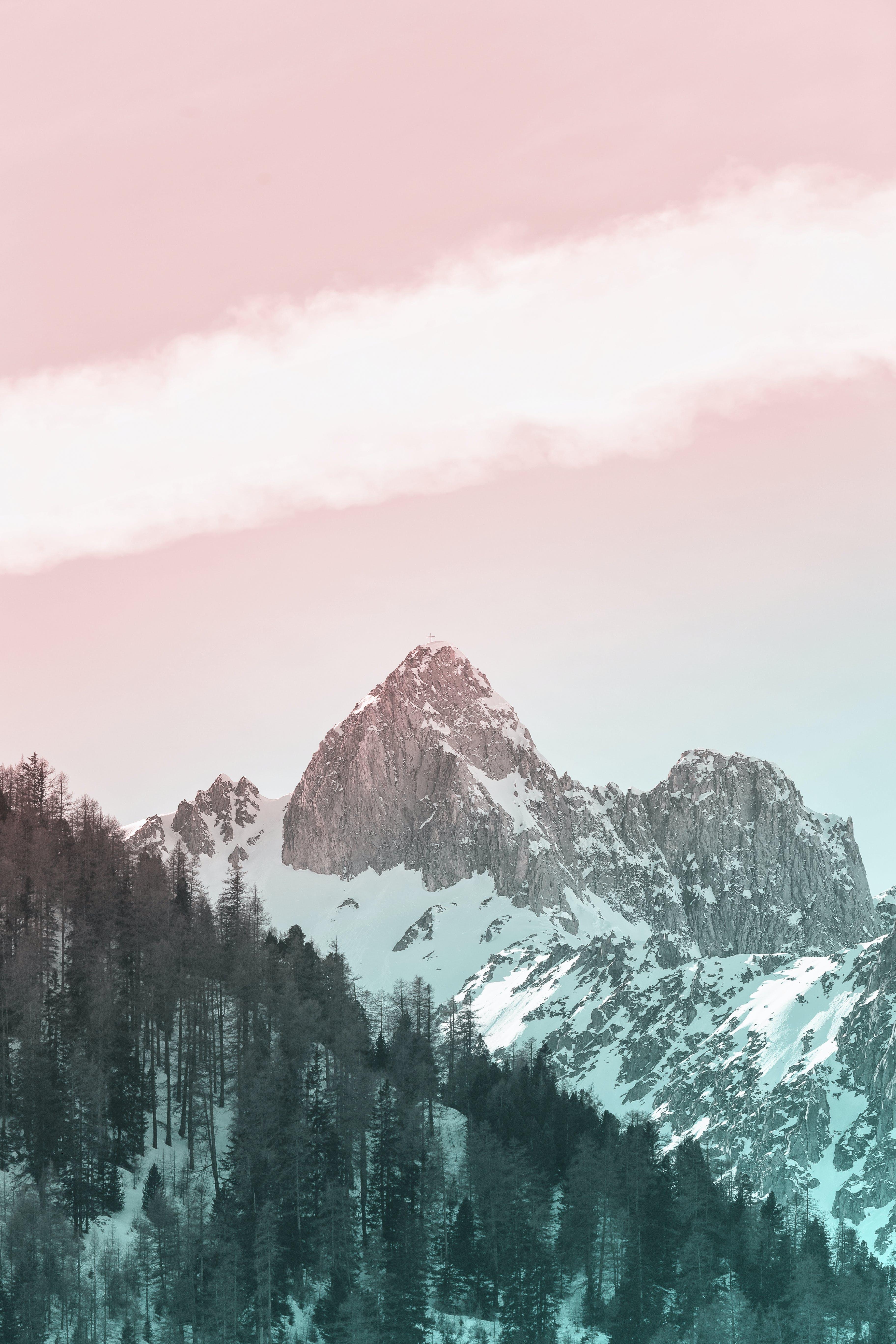 Kostenloses Stock Foto zu berge, draußen, frost, gefroren