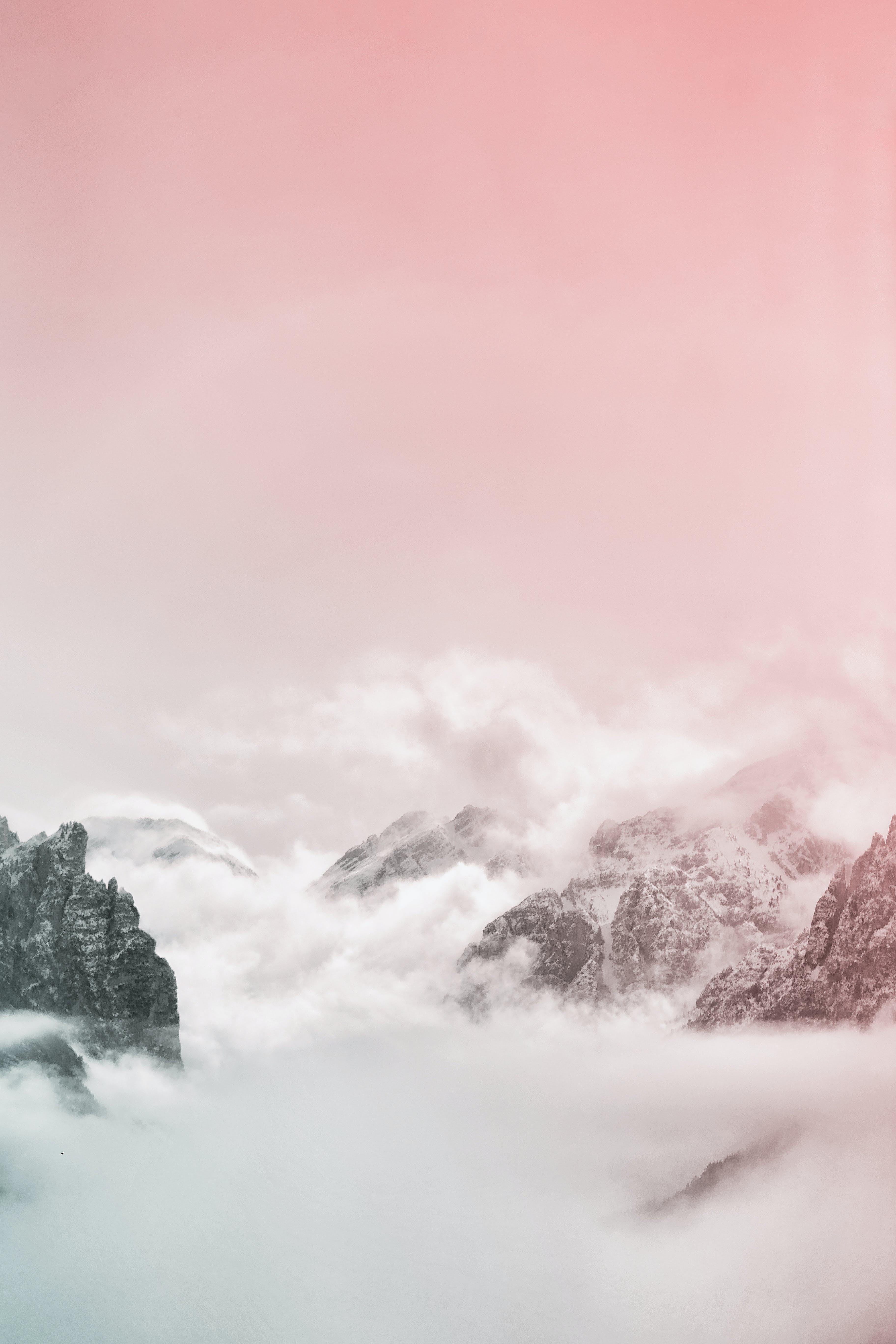 alam, awan, berkabut