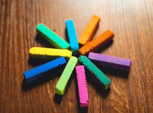 彩色图像, 彩色鉛筆, 畫圖, 艺术背景 的 免费素材照片