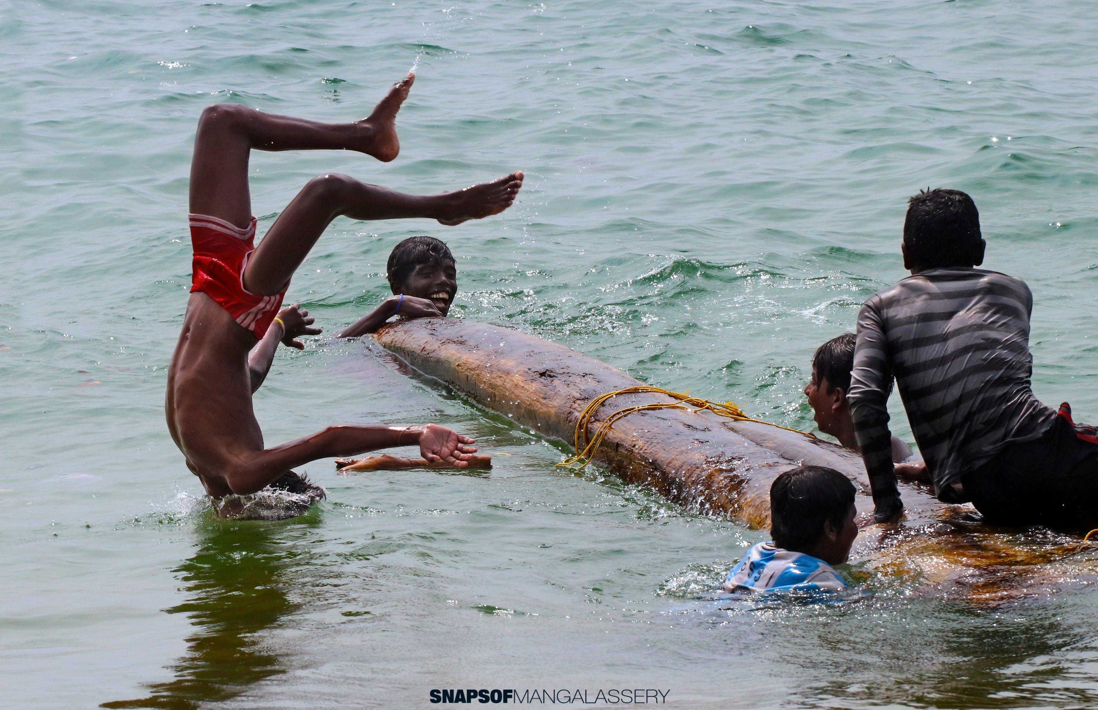 Free stock photo of beach, kids, play time