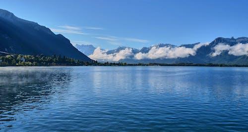 Immagine gratuita di cloud, mare, montagna