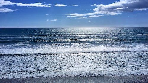 Immagine gratuita di cielo, cloud, mare, onde
