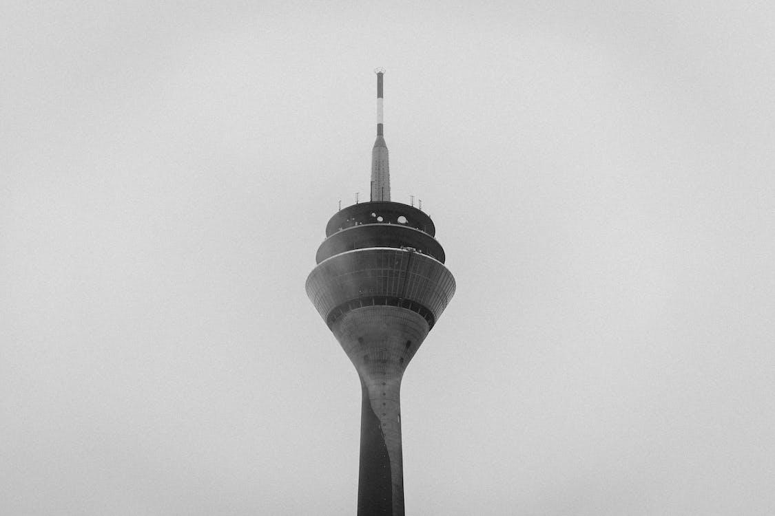 arkitektur, bygning, grå