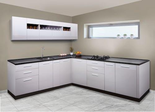 Fotos de stock gratuitas de aparato de cocina, cocina en forma de l, herramientas de cocina