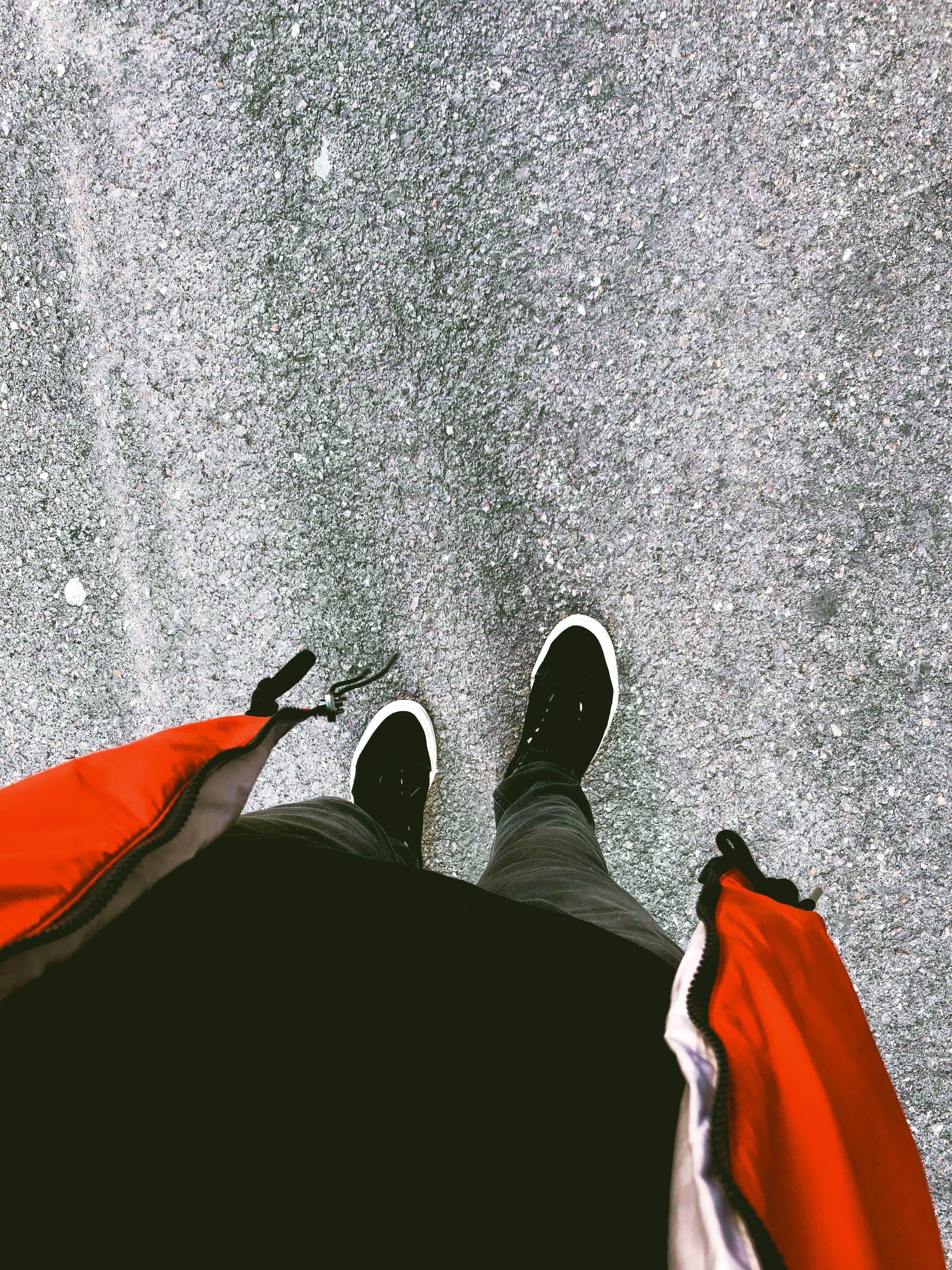 Δωρεάν στοκ φωτογραφιών με pov, αθλητικά παπούτσια, αλέθω, άνθρωπος