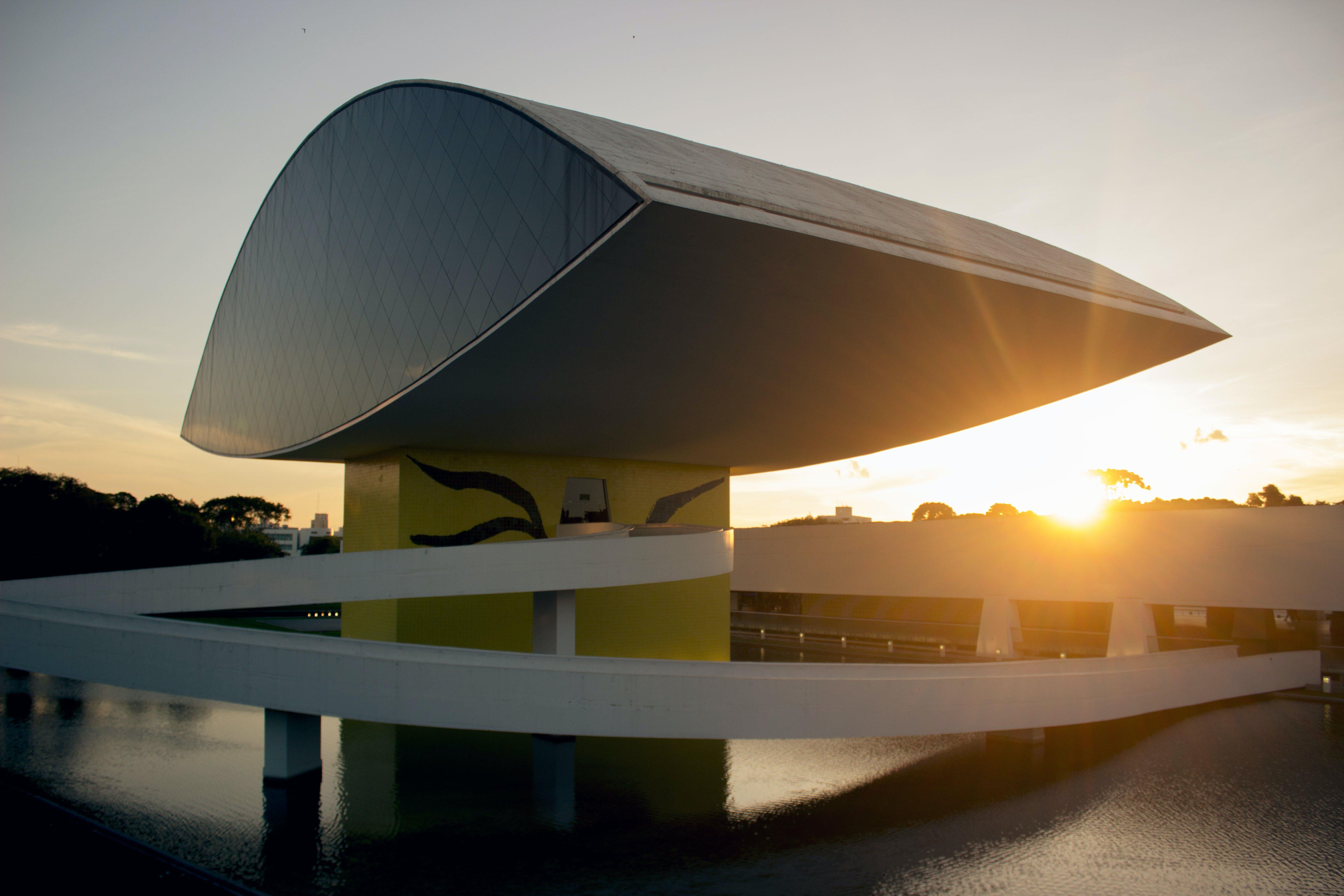 Free stock photo of architecture, brazil, curitiba, futuristic