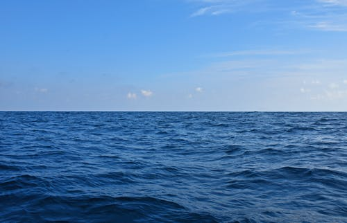 Free stock photo of blue, blue background, Blue ocean, blue sky