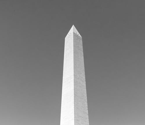 Washington Monument in Grayscale Photography