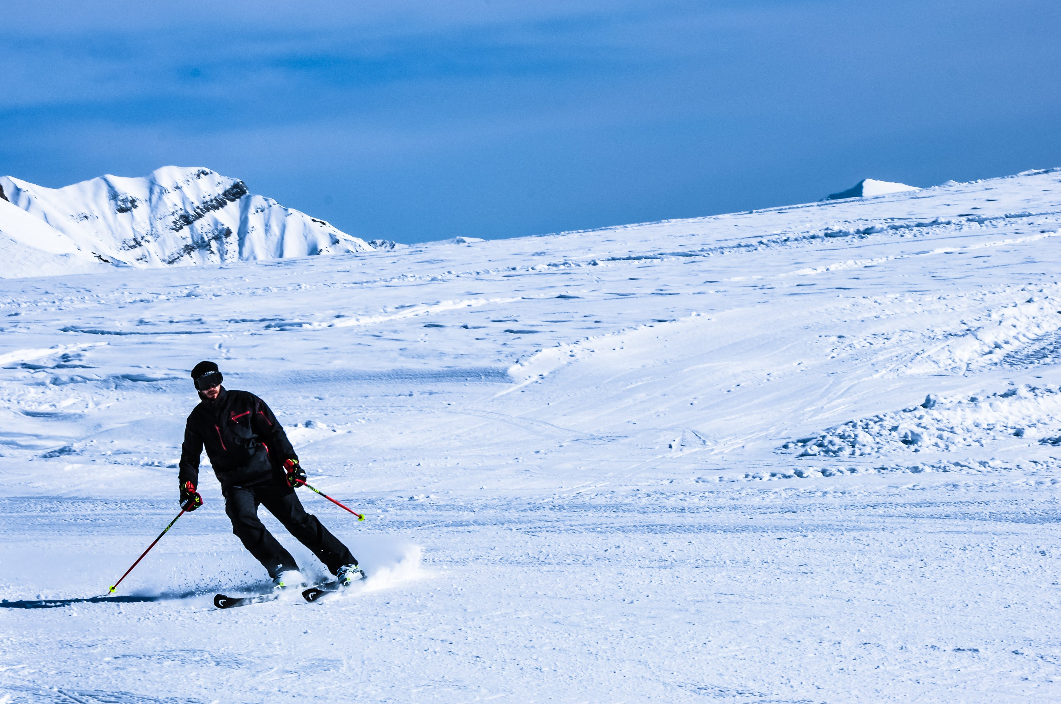 Free stock photo of Skii, skiing, skiing resort, snow