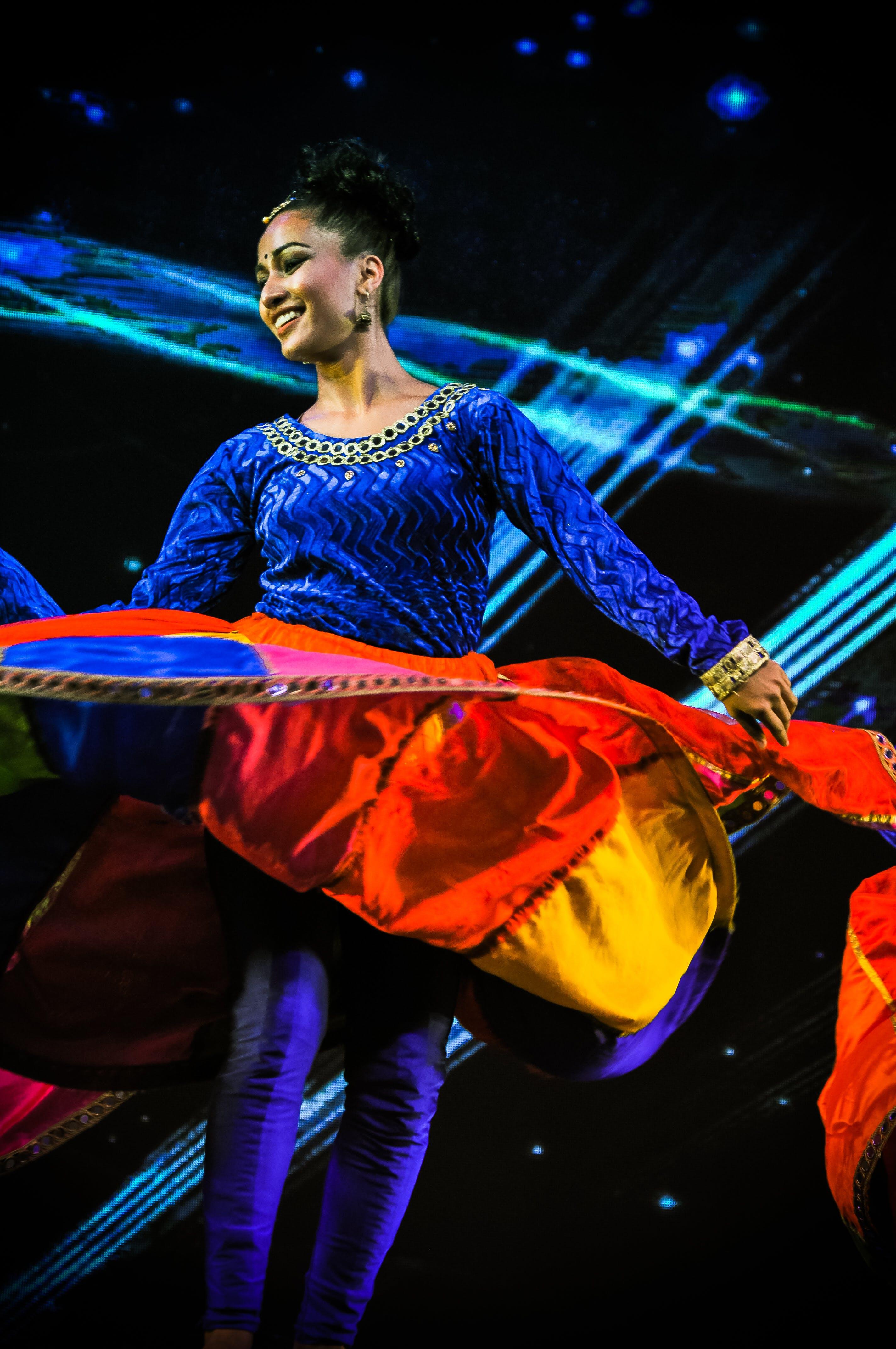 Free stock photo of dance, dancer, india, indian dancer