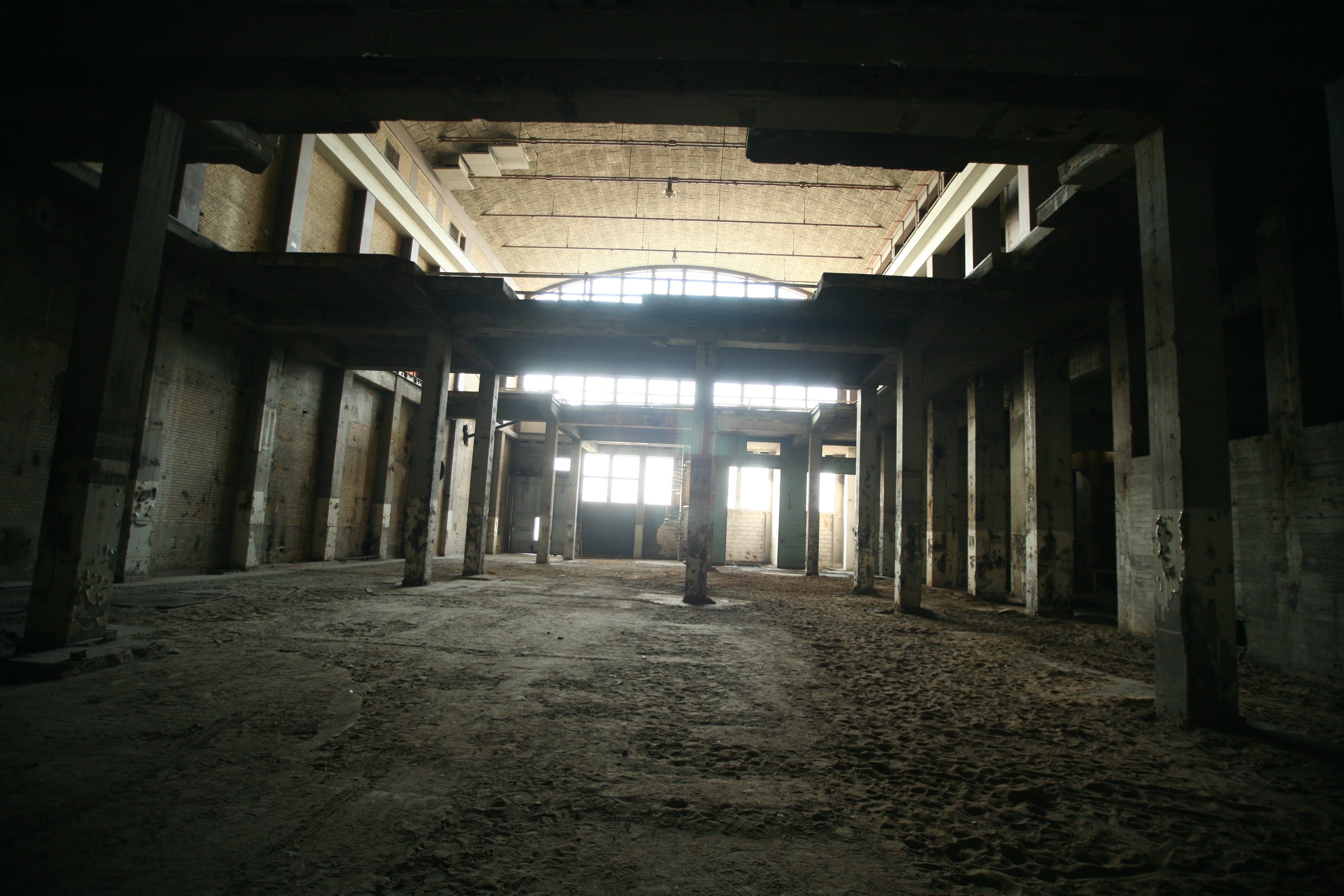 Photograph of Abandoned Concrete Structure