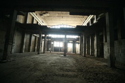 Free stock photo of dark, dirty, building, broken