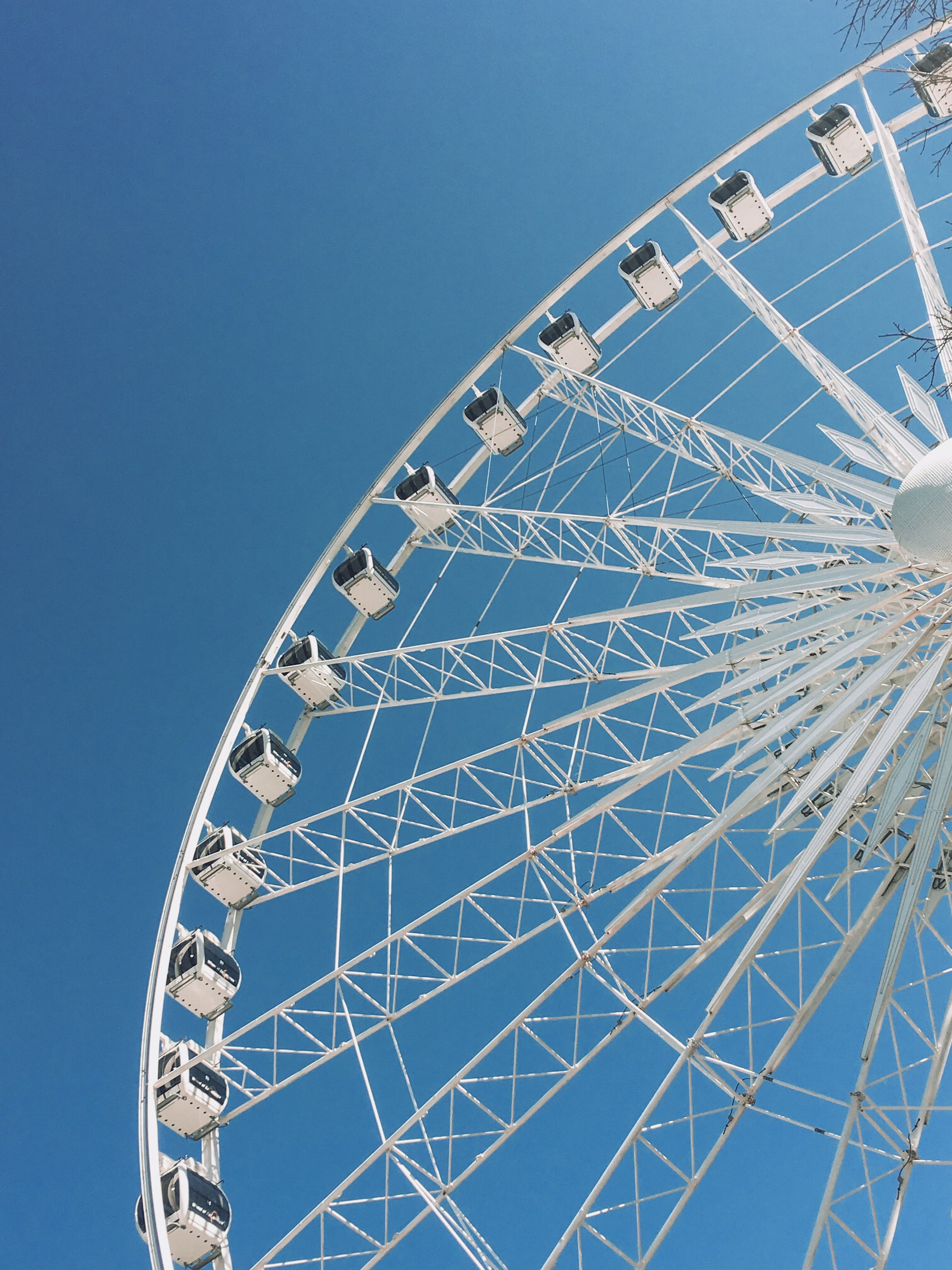 Low-Angle Photography of Ferris Wheel
