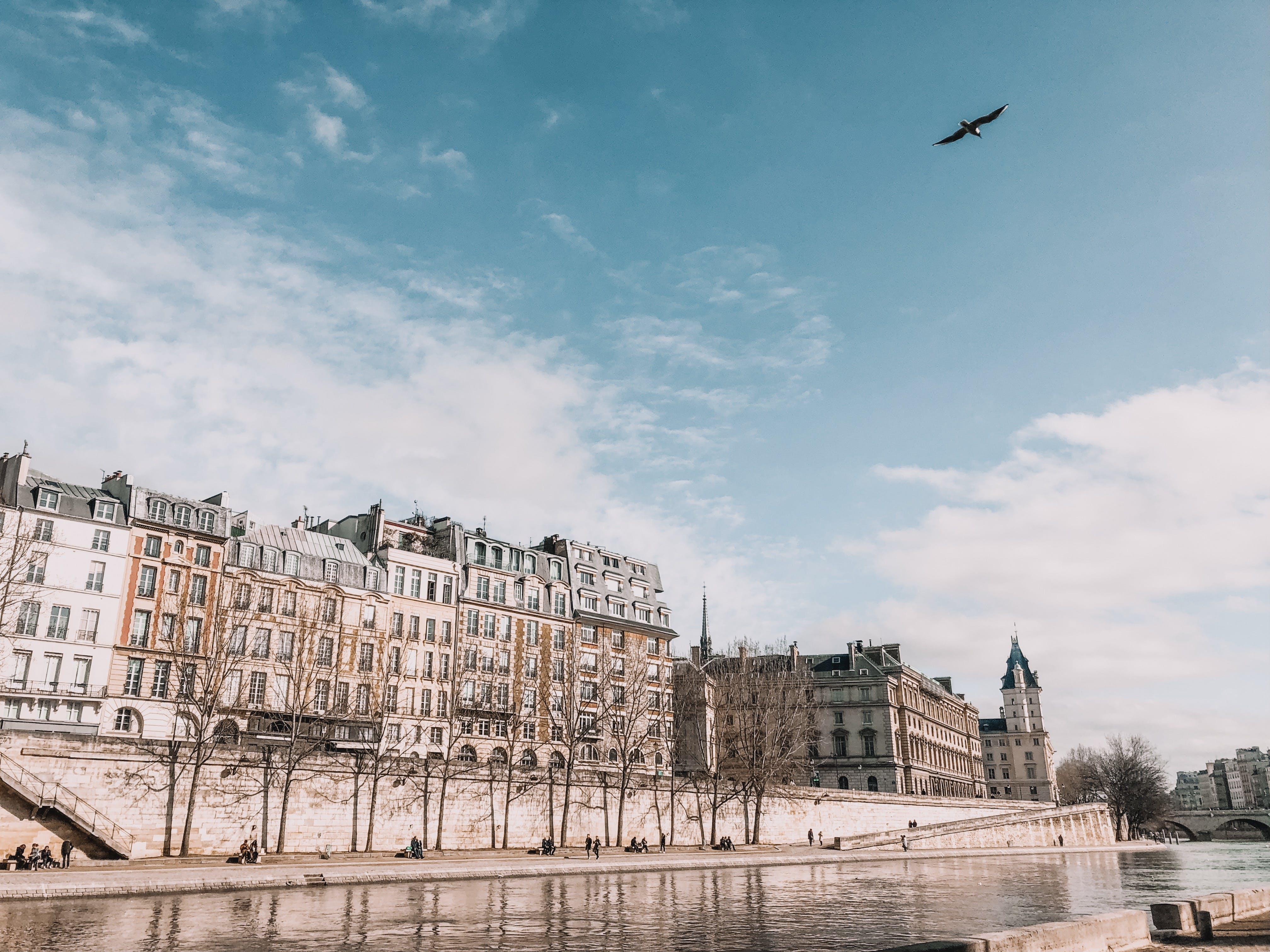 Безкоштовне стокове фото на тему «архітектура, бізнес, будівлі, вода»