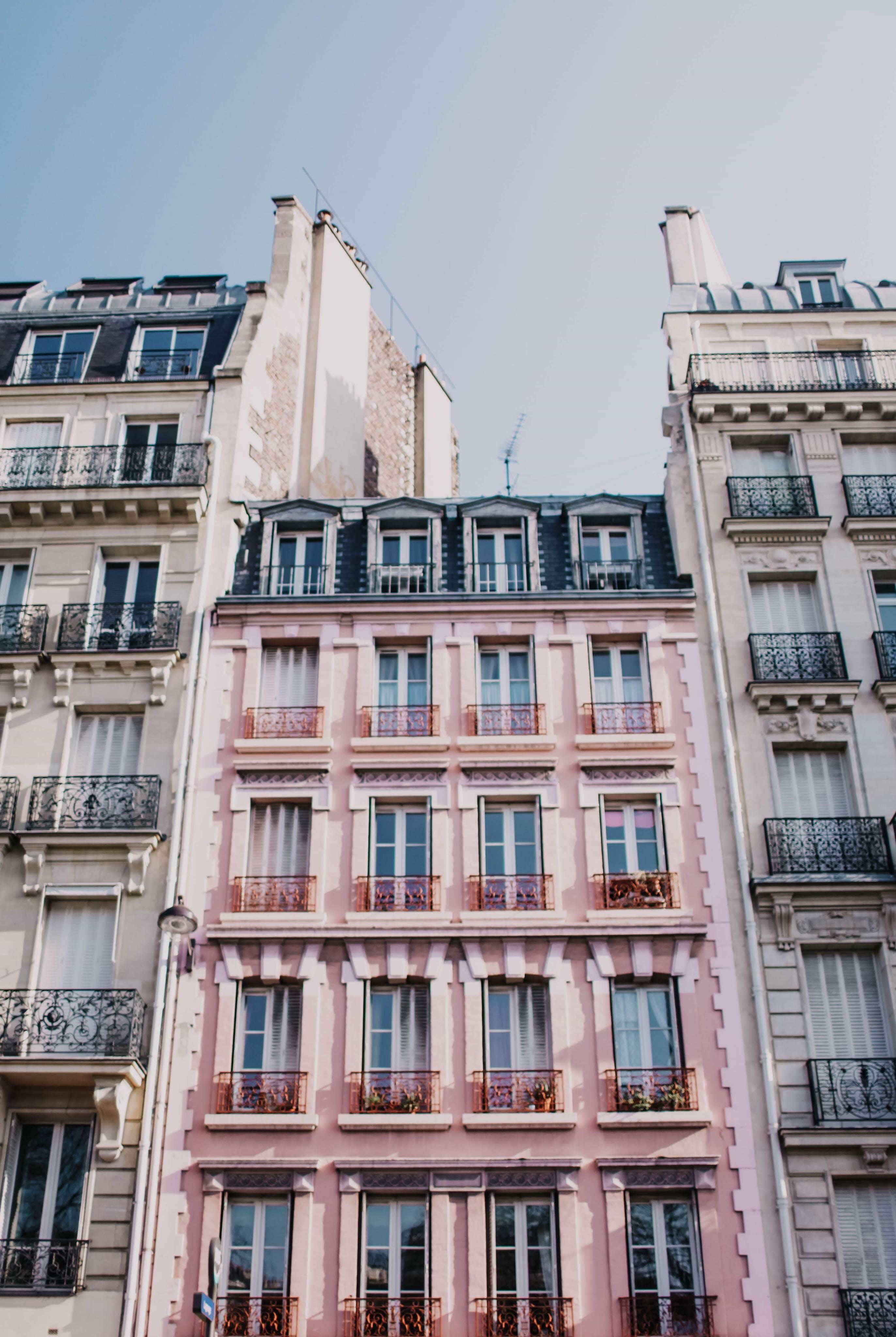 architektur, balkone, business