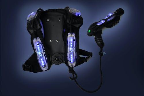 Free stock photo of laser tag, laser tag equipment, laser tag gun