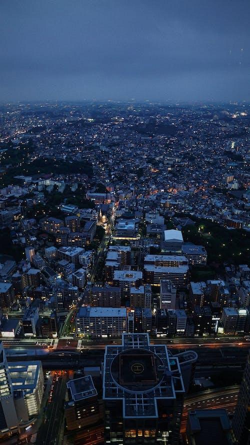 Kostenloses Stock Foto zu lichter der stadt, nacht, nachtstadt