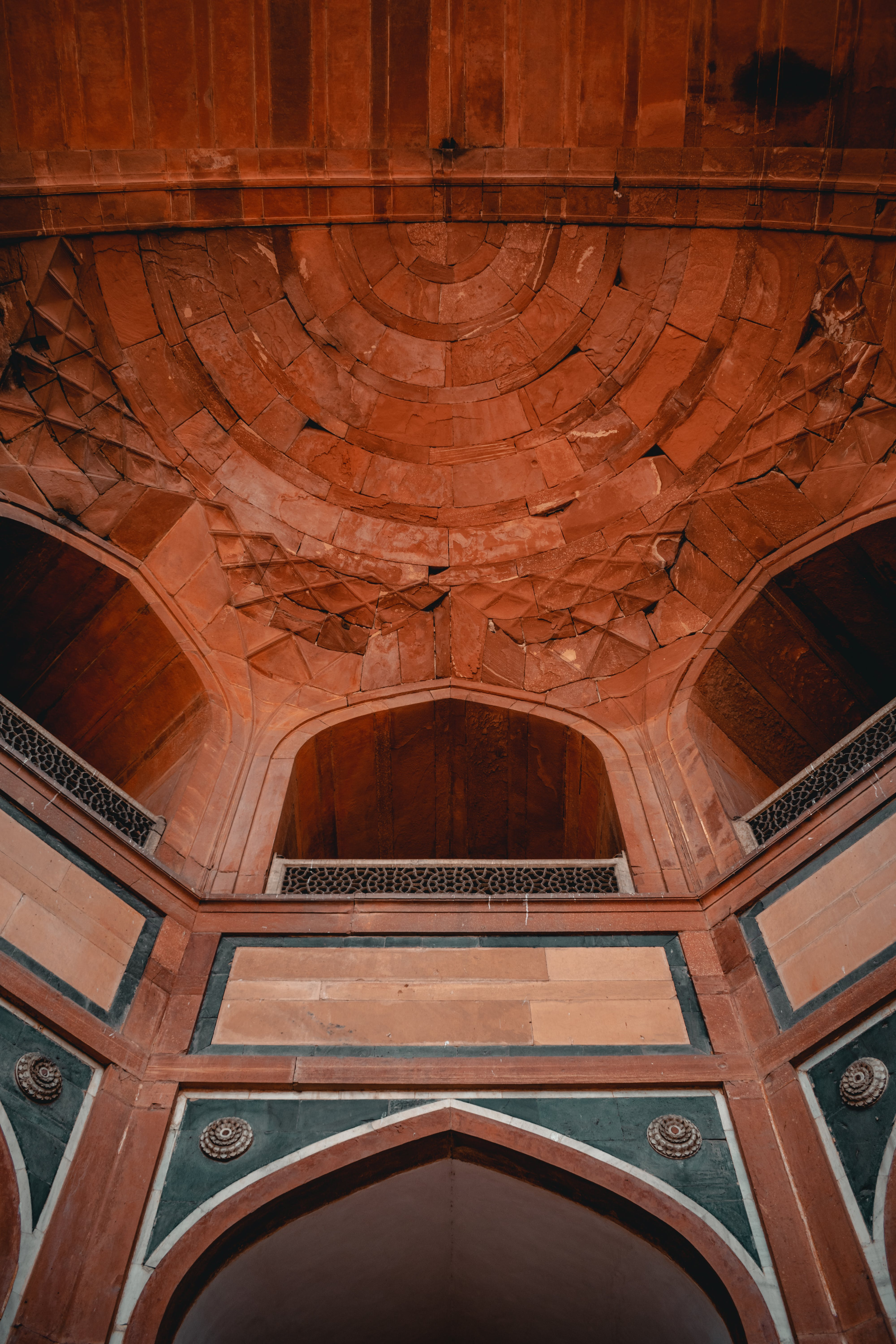 Low Angle Photography of Wooden Ceiling