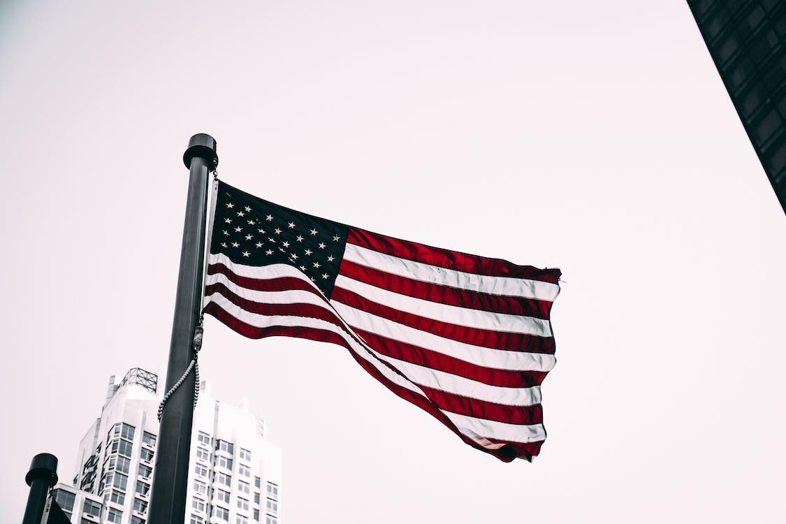 Amerika, Amerikai egyesült államok, amerikai zászló