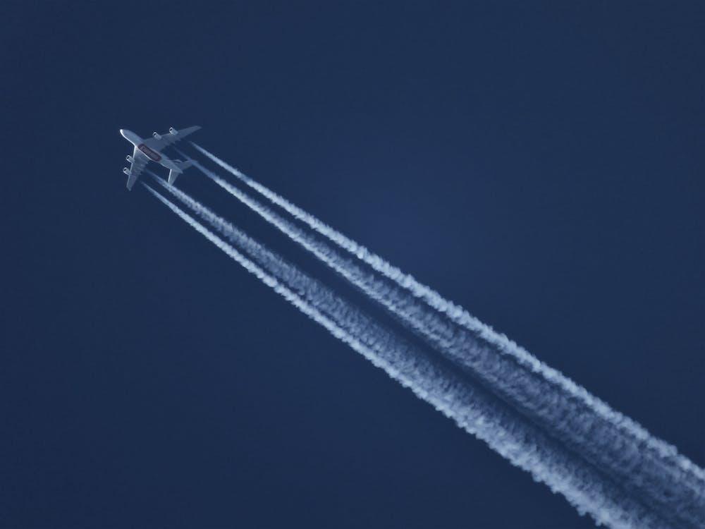 araç, gökyüzü, hava aracı