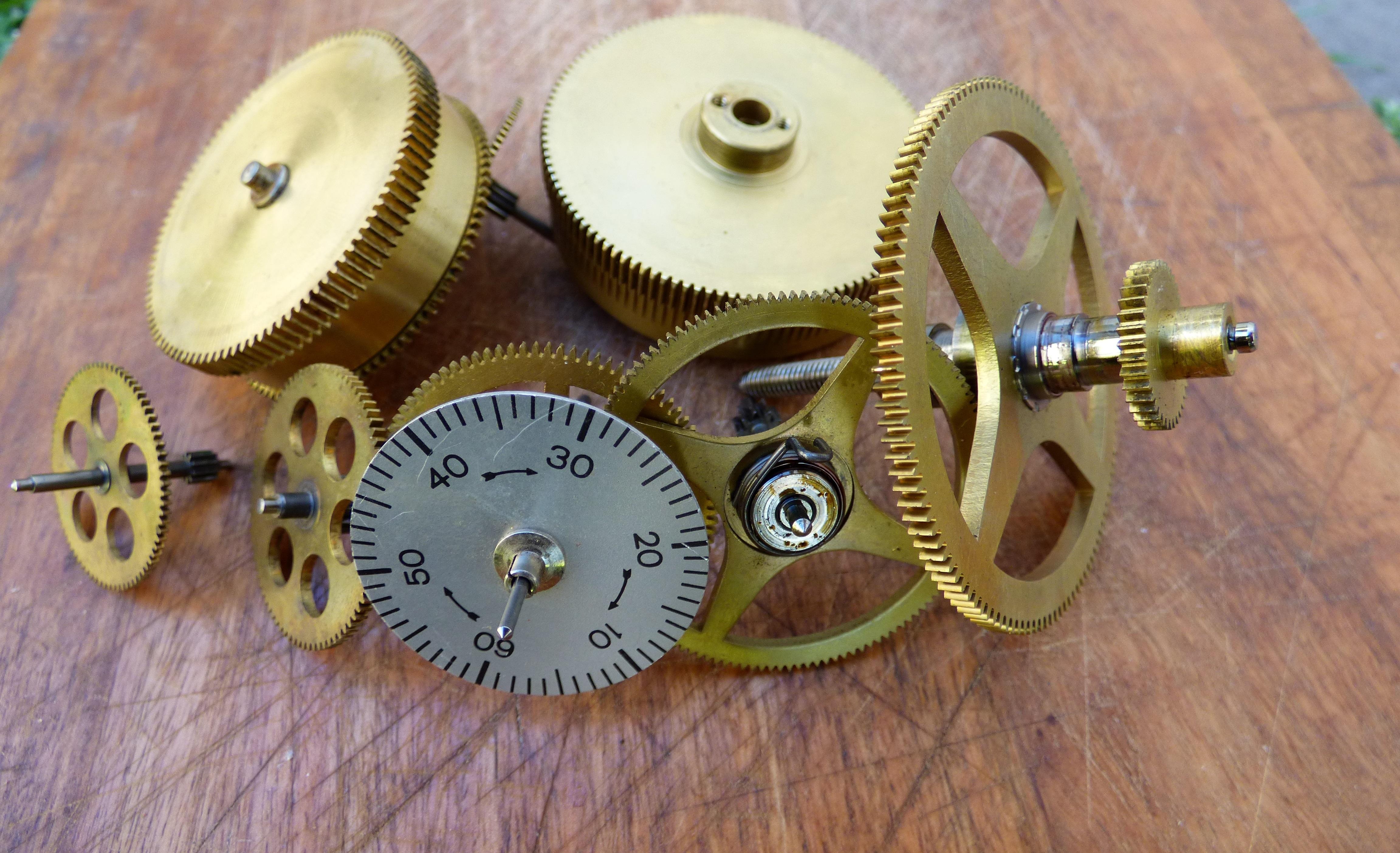 Photo of Timer Mechanical Gear Set