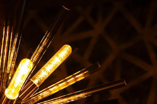 Free stock photo of Amarillo, Brillo, color, luces