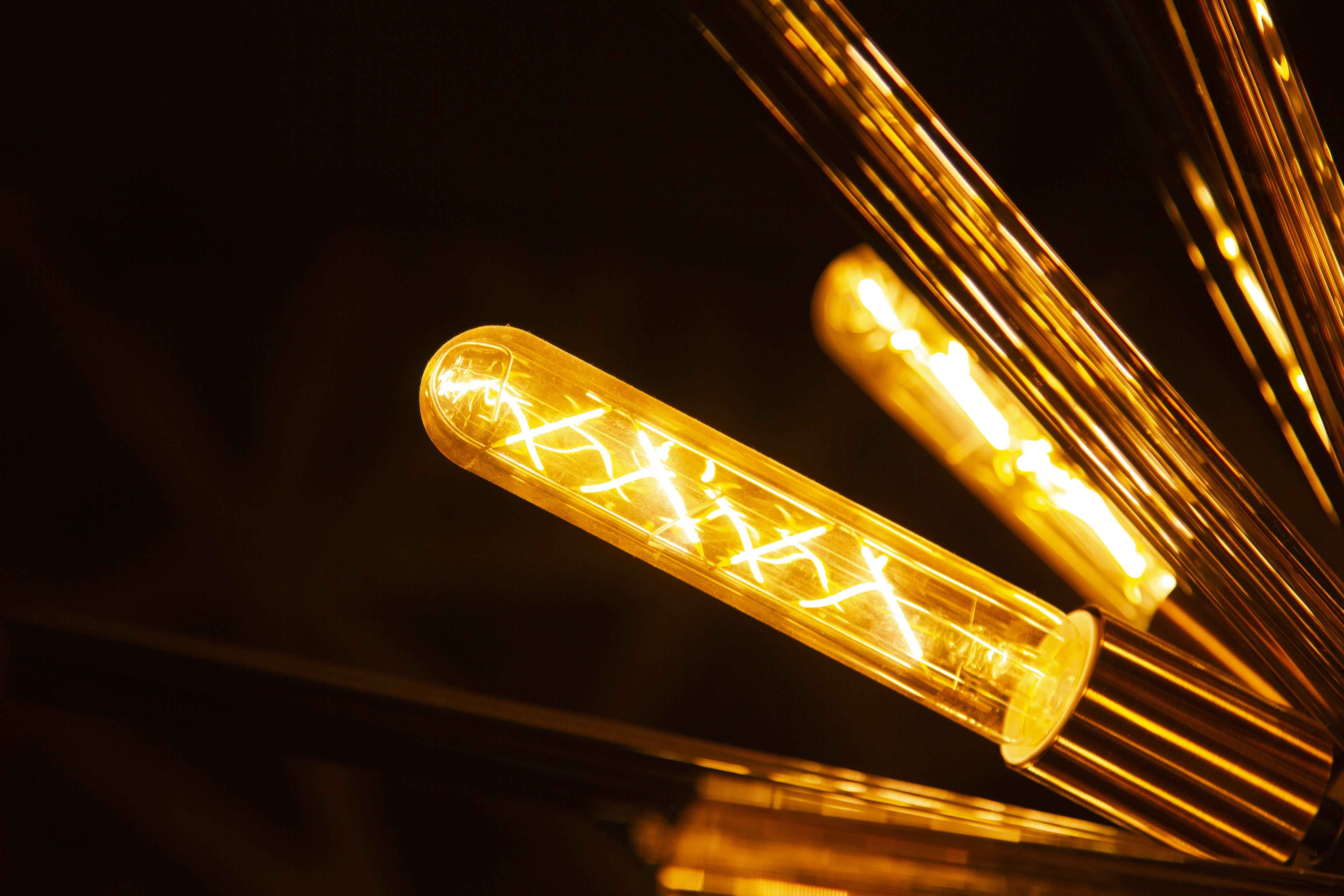 Free stock photo of Amarillo, iluminacion, lampara, luz