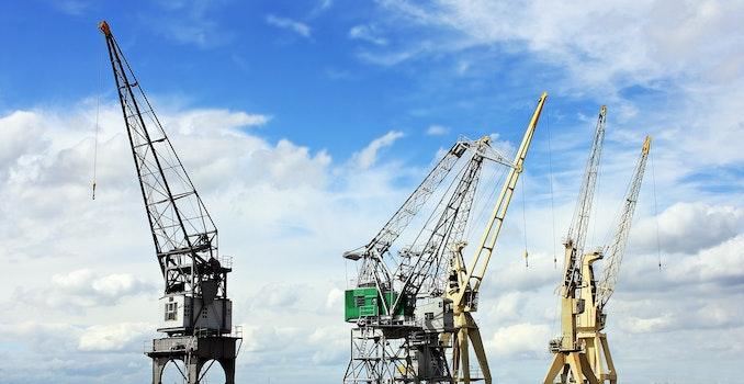Crane during Daytime