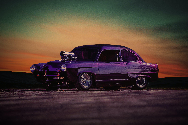 Foto d'estoc gratuïta de barra calenta, capvespre, clàssic, cotxe