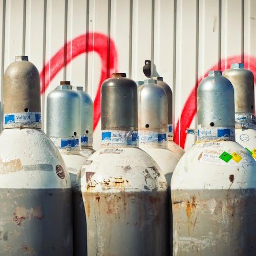 ガス, タンク, バルブ, 商品の無料の写真素材