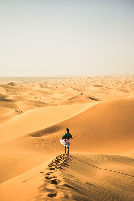 de areia, argélia, árido, aventura