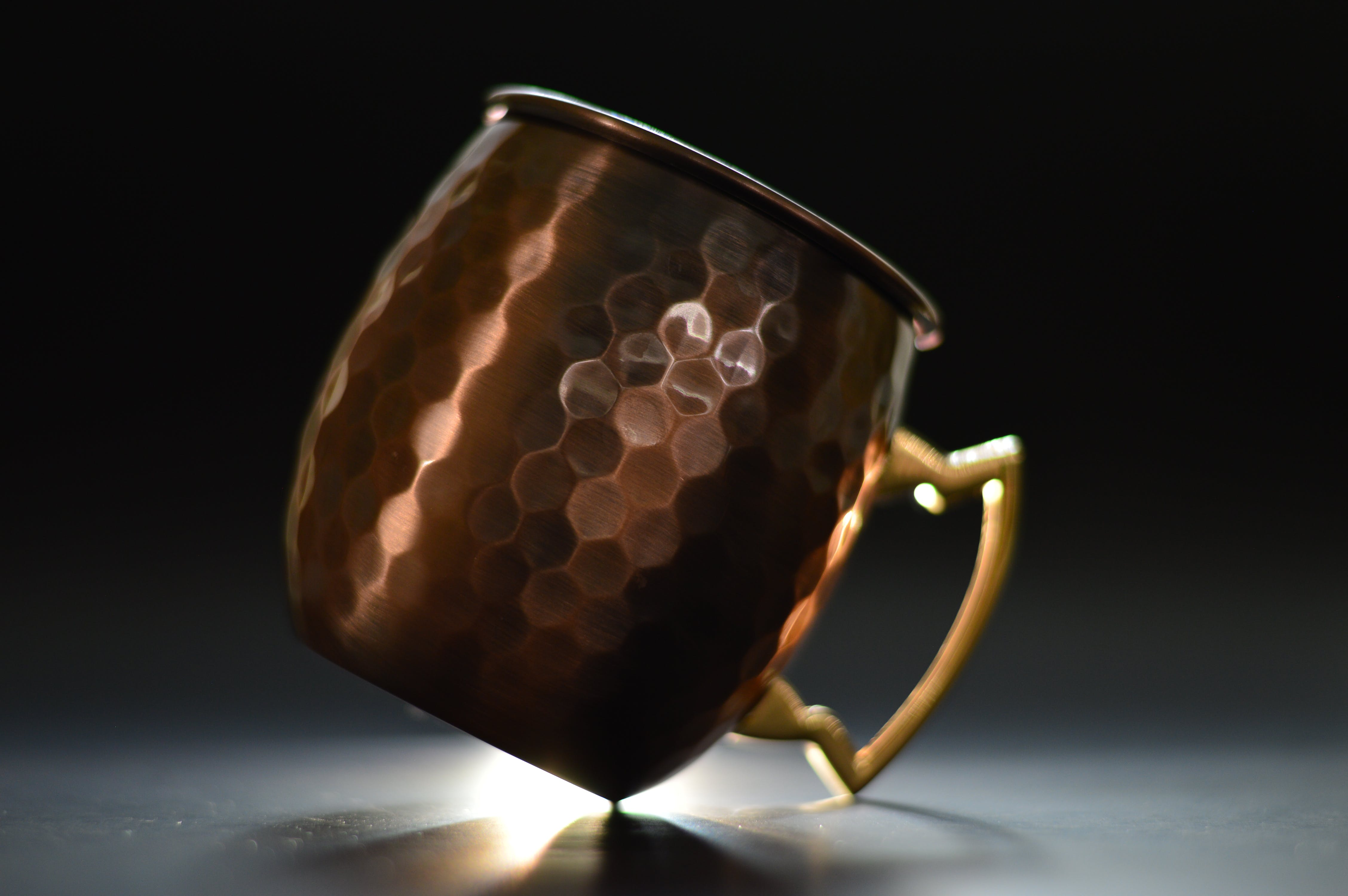 Free stock photo of backlight, copper cup, cup, stock
