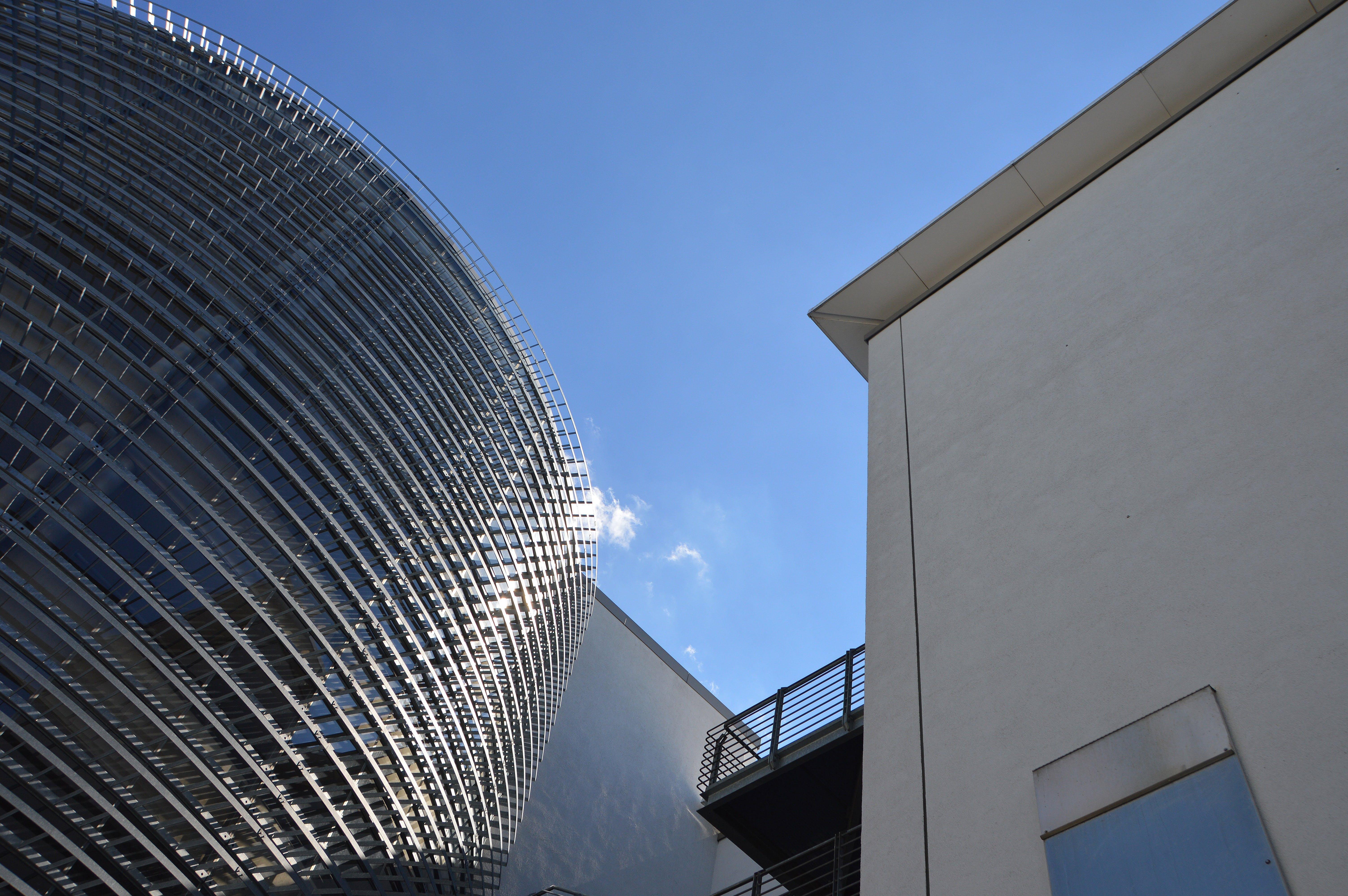강철, 건물, 건설, 건축의 무료 스톡 사진