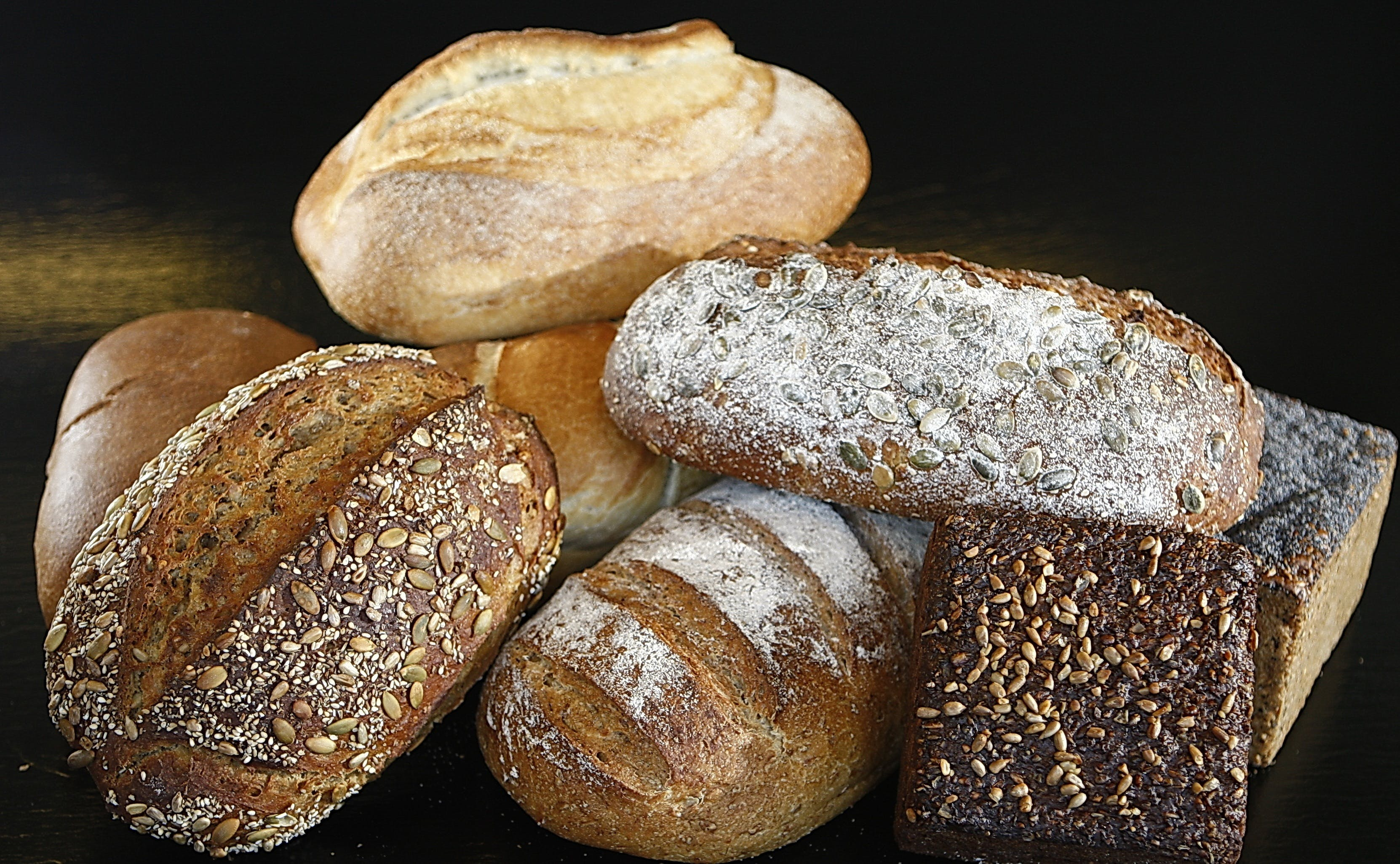 Several Brown Breads