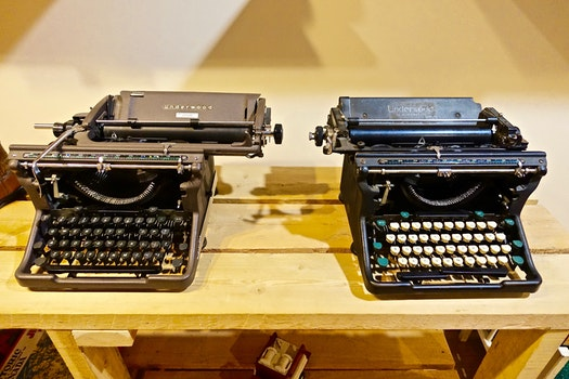 Free stock photo of typing, vintage, technology, business