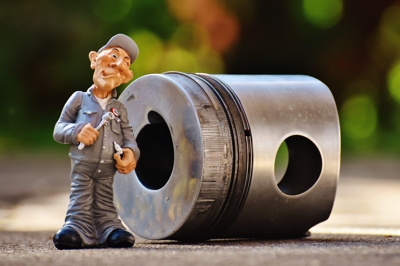 Free stock photo of funny, truck, mechanic, aluminium