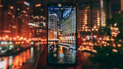 Безкоштовне стокове фото на тему «будівлі, екран, електроніка, козирна вежа»