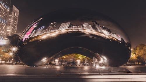 Foto profissional grátis de arquitetura, atração turística, cair da noite, centro da cidade