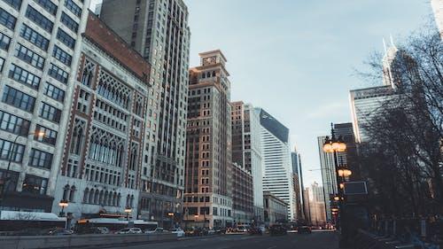 Gratis stockfoto met amerika, architectuur, binnenstad, chicago