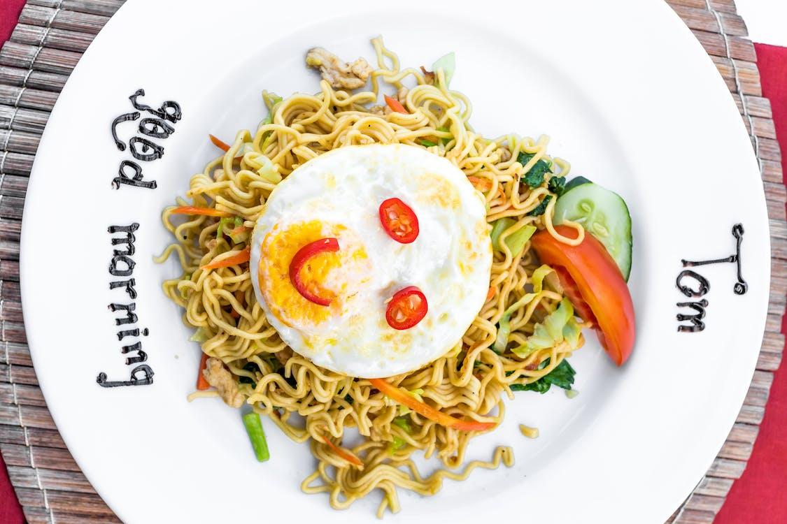 Plate of Stir Fried Noodle