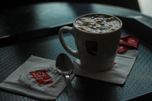 Základová fotografie zdarma na téma hotel, jídelna, káva, kávový nápoj