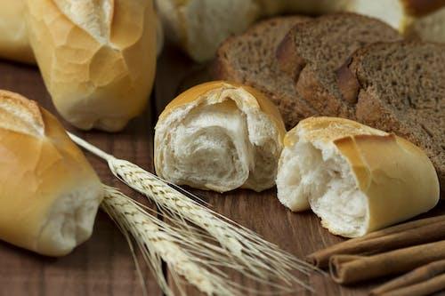 Fotobanka sbezplatnými fotkami na tému bochník, celý, cesto, chleby